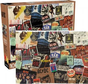 AC/DC Collage 1000  piece jigsaw puzzle 710mm x 510mm